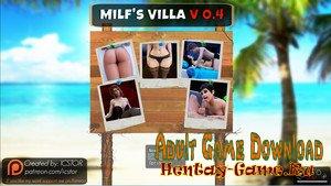 Milf's Villa - Incest Game [InProgress New Version 0.4c ( Episode 1-4)] (Uncen) 2016