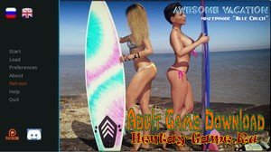 Awesome Vacation: Blue Crush - [InProgress Full Game] (Uncen) 2019