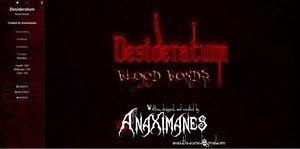 Desideratum: Blood Bonds - [InProgress New Version Chapter 19 Special Bad Ends] (Uncen) 2019