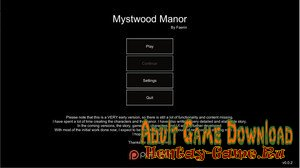 Mystwood Manor - [InProgress  New Version 0.4.2.8 + INC Patch] (Uncen) 2020