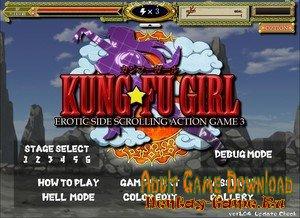 Kung-Fu Girl - [InProgress Full Game + Cheats (Uncensored Edition)] (Uncen) 2020