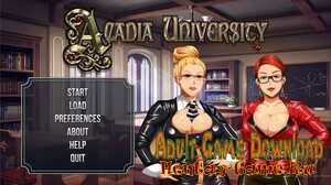 Acadia University - [InProgress Version 1.0 (Full Game)] (Uncen) 2021